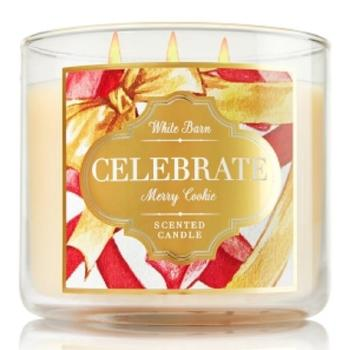 Bath & Body Works - Bougie 3 mèches Merry Cookie
