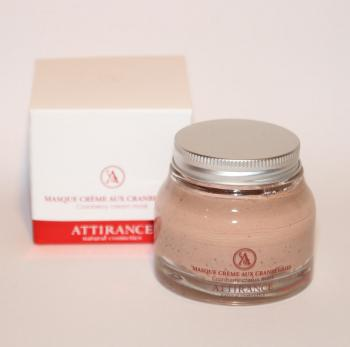 Attirance - Cranberry cream mask