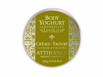 Attirance - Body yoghurt lemon & olives (200g)