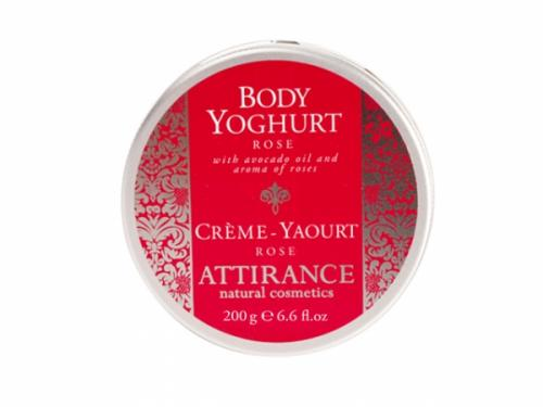 Attirance - Body yoghurt rose (200g)