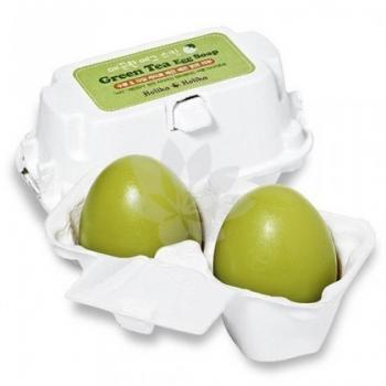 Holika Holika - Green tea egg soap
