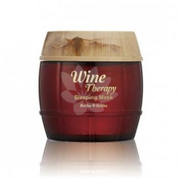 Holika Holika - Wine therapy sleeping mask