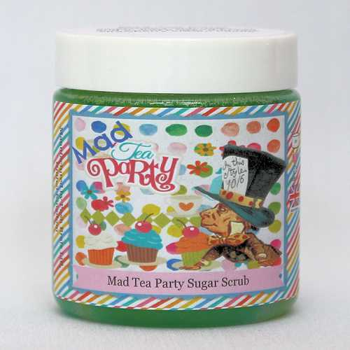 Posh Brats - Wonderland collection: mad tea party sugar scrubs
