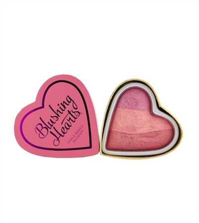 Makeup revolution - I love make up - Triple Baked Blusher - Blushing Hearts