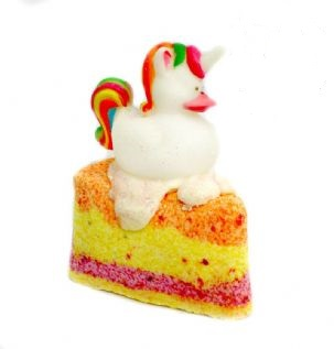 Posh Brats - Rainbow Unicorn Fizzy Bath Cake
