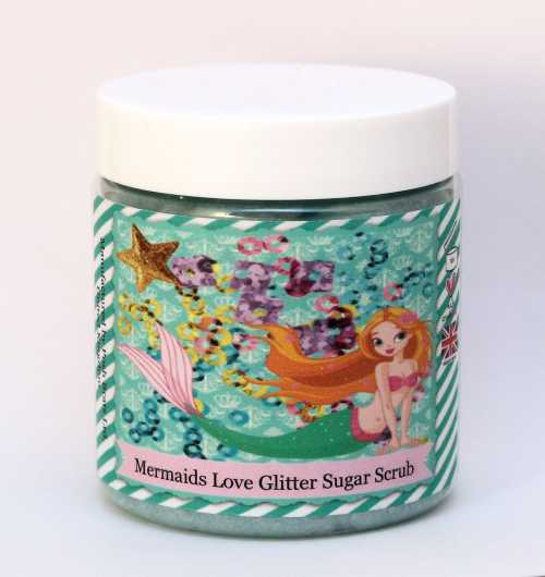 Posh Brats - Mermaids Love Glitter Sugar Scrub
