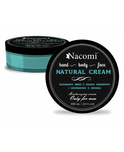 Nacomi - Natural cream only for men