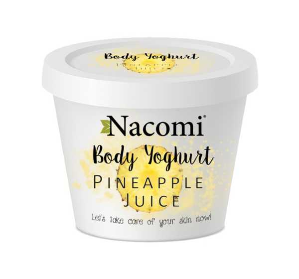 Nacomi - Body Yoghurt pineapple juice
