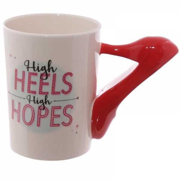 Rouge Céramique Céramique En En Escarpin Rouge Mug En Escarpin Mug Escarpin Céramique Mug 4RqAcjL35