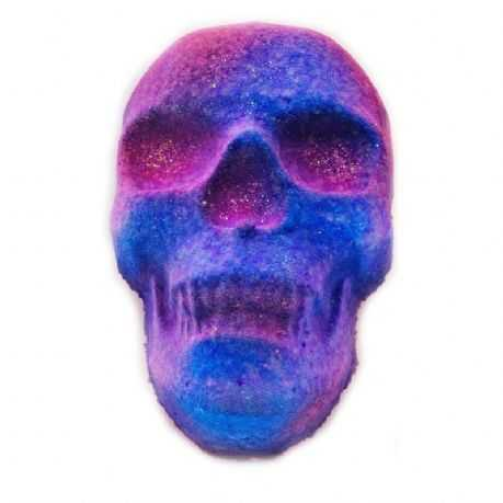 Twilight Blooms Fizzy Skull Bath Bomb
