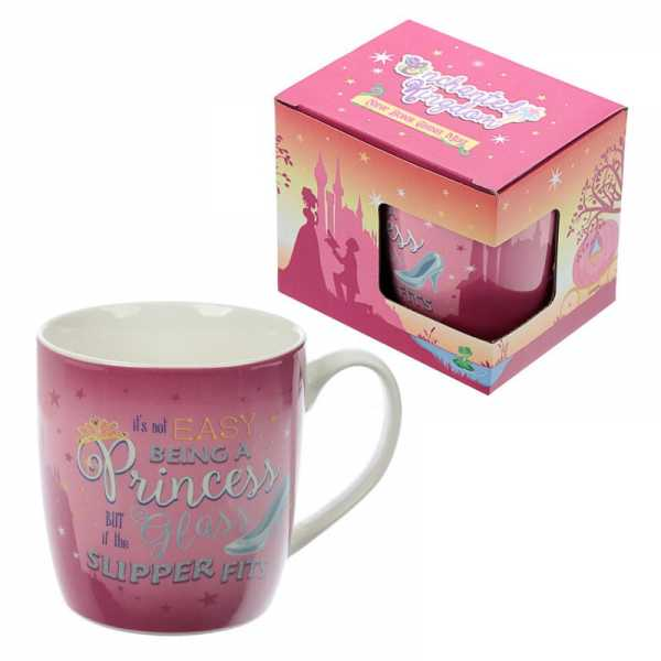 Mug en porcelaine tendre Enchanted Kingdom Princesse
