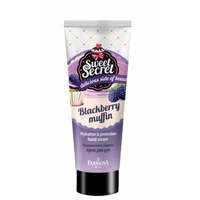 Sweet Secret - Blackberry Muffin hydratation et protection hand cream