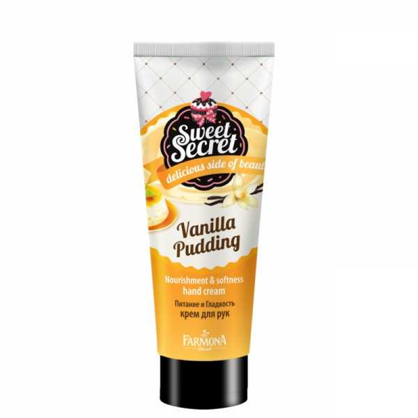 Sweet Secret - Vanilla pudding nourishment and softness hand cream