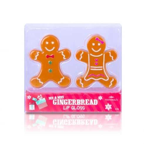 Mr & Mrs Gingerbread Lip Balms Duo Pack
