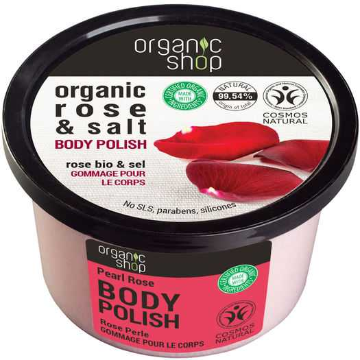 Organic Shop - Organice rose & salt body polish