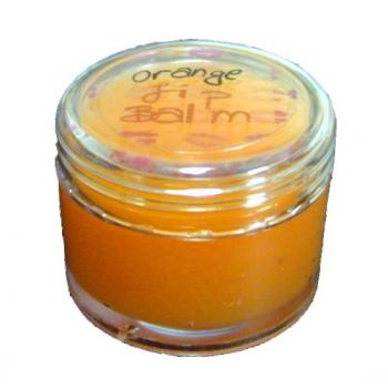 Lovely Bubbly - Orange lip balm