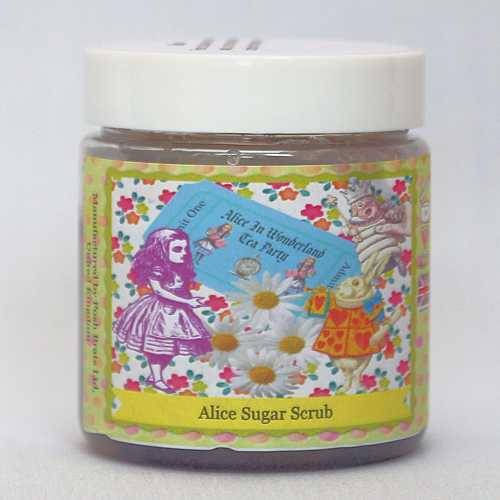 Posh Brats - Wonderland collection : Alice sugar scrubs