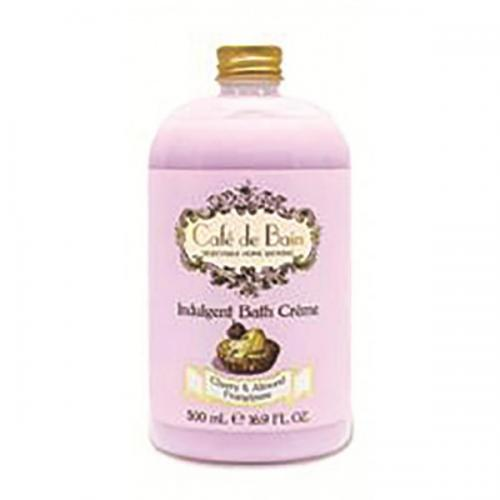 Café de bain - Indulgent bath creme Cherry and Almond Frangipane