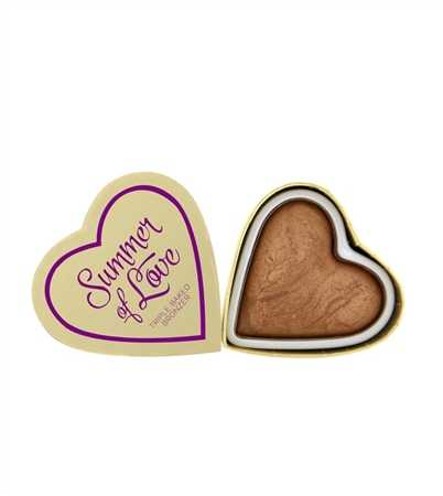 Makeup revolution - I love Make up - Summer of Love Triple Baked Bronzer - Love Hot Summer