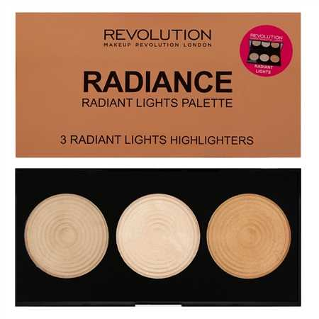 Makeup revolution - 3 Radiant Lights Highlighters