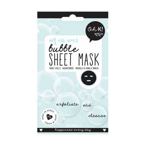 Oh K ! - Masque oh K sheet bubble