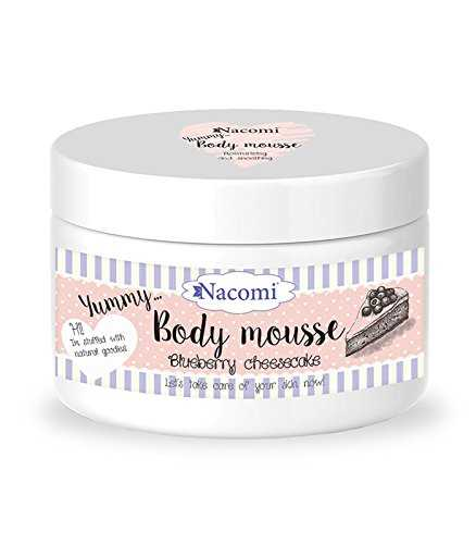 Nacomi - Body mousse blueberry cheesecake