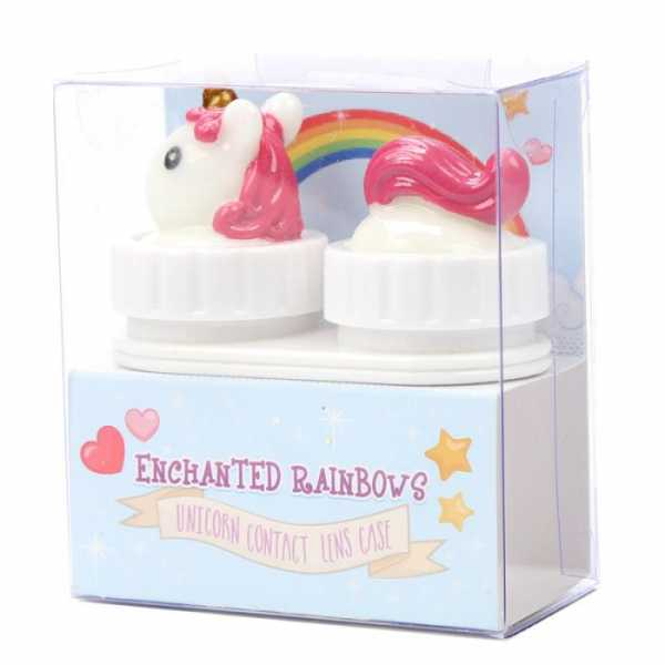 Unicorn contact lens case
