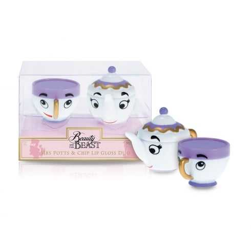 Disney - Mrs Pott and Chip lip gloss duo