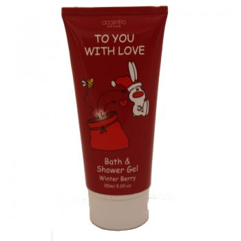 Gel Douche To you with love - Baie d'hiver