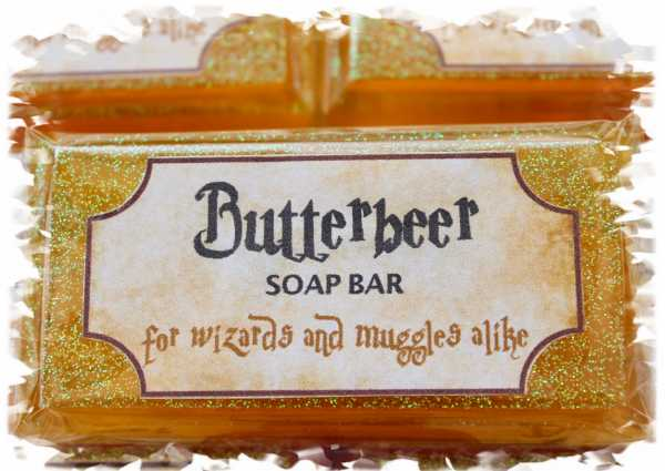 Harry Potter Butter Beer soap bar