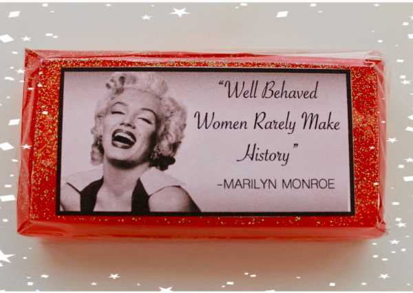 Marylin Monroe Soap bar