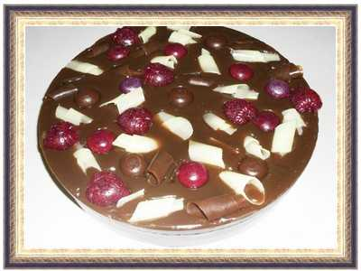 Chocolate soap cake