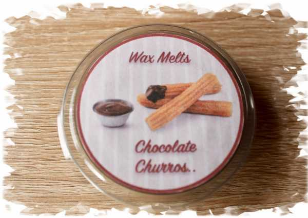Chocolate churros wax melts